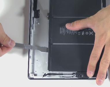 замена батареи ipad