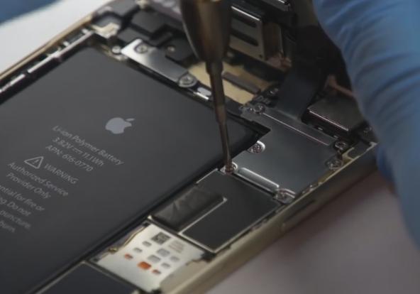 замена батареи айфон 6
